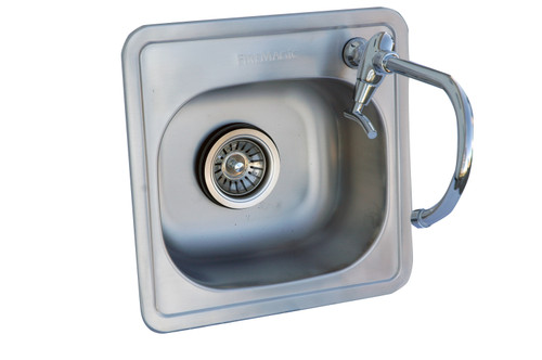 Outdoor Greatroom - Outdoor Sink with Single Faucet
