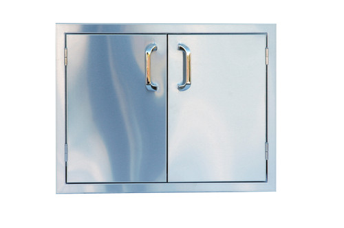 "Outdoor Greatroom - Double Access Door 27"" or 30"""