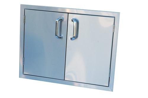 """Outdoor Greatroom - Double Access Door 27"""" or 30"""""""