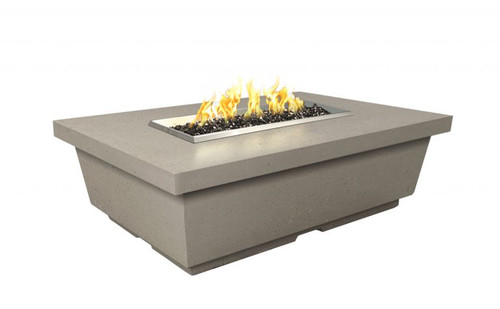 AFD - Contempo Rectangle Firetable - Lounge Height