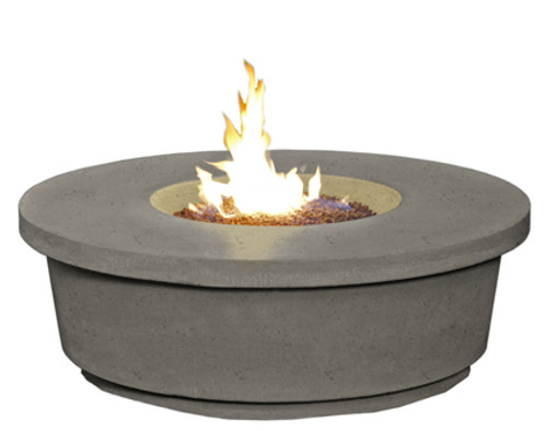 American Fyre Designs -  Contempo Round Firetable - Lounge Height