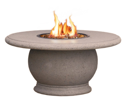 AFD - Amphora Firetable With Concrete Top or Granite Inset  - Chat Height