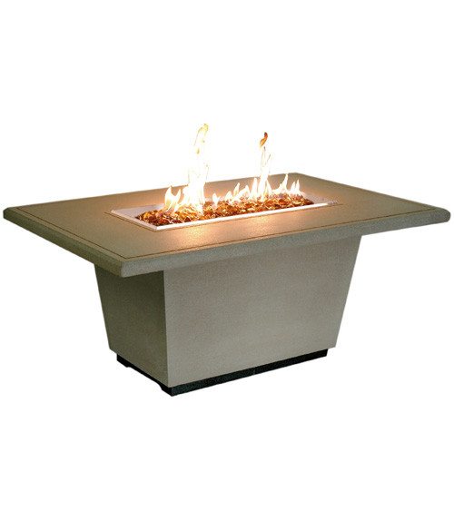 AFD - Cosmopolitan Rectangle Firetable - Chat Height