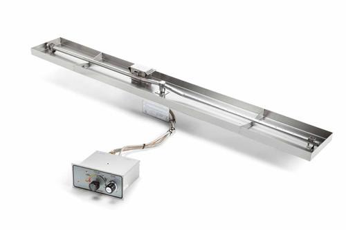 "HPC 49""x 8"" Interlink Linear Pan Insert - Push Button Ignition"
