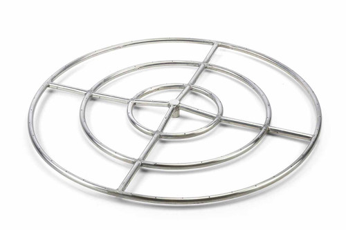 """Hearth Products Controls - 36"""" High Capacity Round Stainless Steel Burner"""