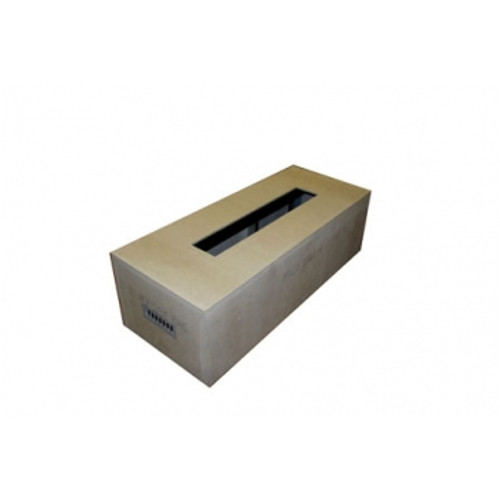 """Hearth Products Controls - Rectangle Unfinished Enclosure - 60"""" x 24"""" x 18"""" With 36"""" Trough Insert"""