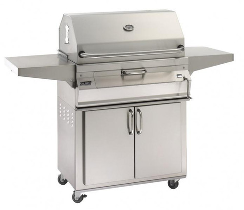 Fire Magic - Regal I Stand Alone Charcoal Grill with Smoker Hood