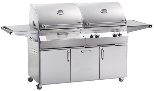 Fire Magic - Aurora 830s Freestanding Combo Grill