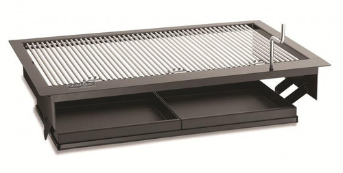 Firemaster Built-In Charcoal Grill