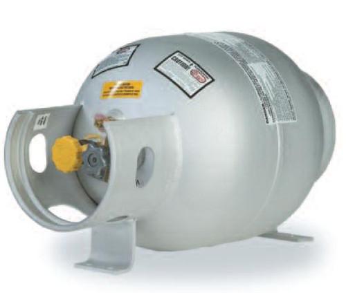 5 Gallon Horizontal Aluminum Propane Tank