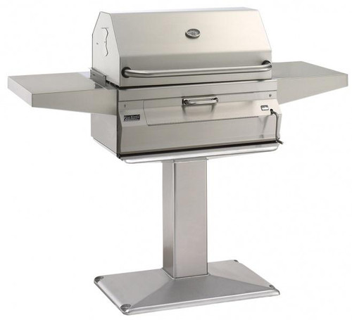 Legacy Charcoal Pedestal Grill - Patio Post