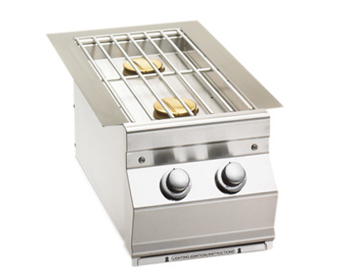 Fire Magic - Aurora Style Built-In Double Side Burner