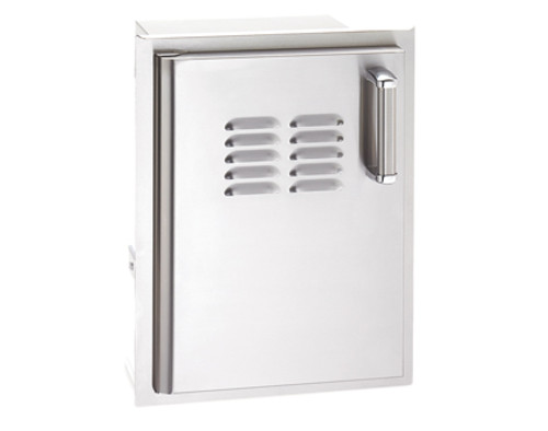 Premium Single Access Door with Tank Tray & Louvers