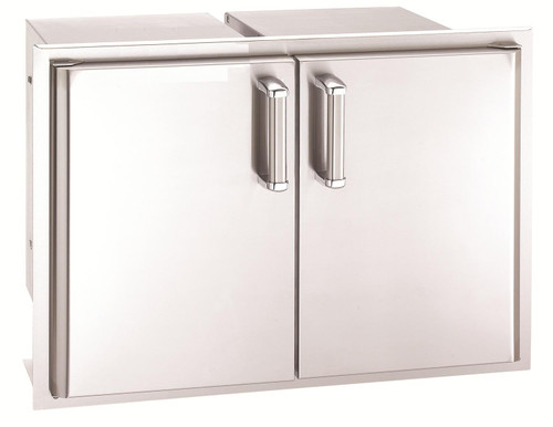 Premium Double Doors with Two Dual Drawers
