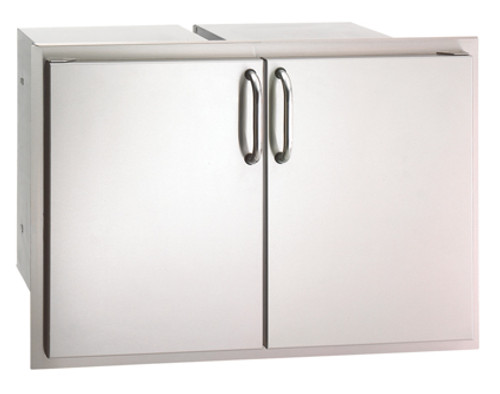 Select Double Access Door with Dual Drawer & Trash Tray