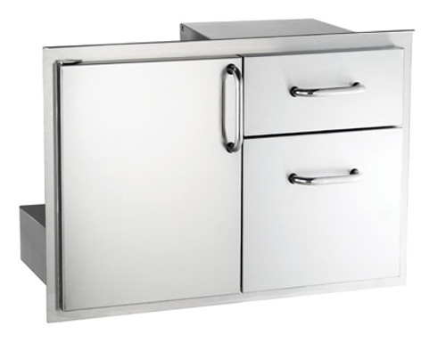 Select Access Door with Double Drawer