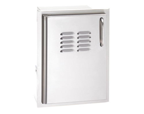 Single Access Door with Tank Tray & Louvers