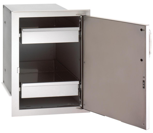 Fire Magic - Select Single Door with Dual Drawers