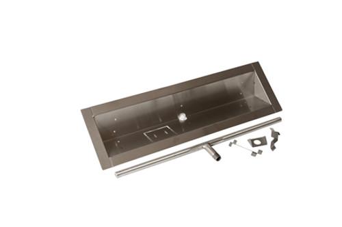 HPC Stainless Steel Trough Burner Pan - Multiple Sizes