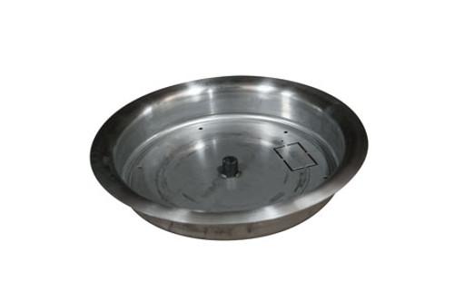 HPC Stainless Steel Bowl Burner Pan - Multiple Sizes