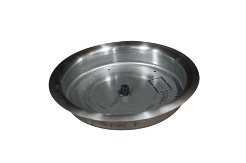 Hearth Products Controls - Stainless Steel Bowl Burner Pan - Multiple Sizes