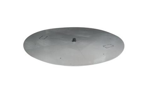 HPC Stainless Steel Round Flat Burner Pan - Multiple Sizes