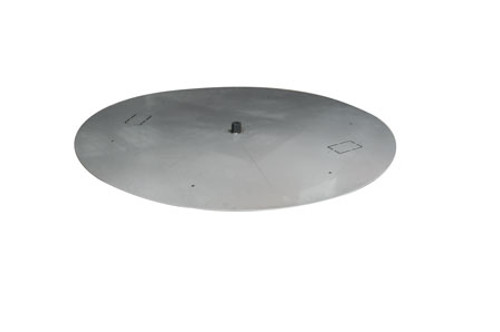 Stainless Steel Round Flat Burner Pan