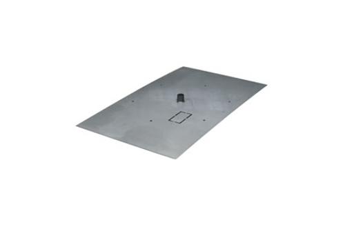 Stainless Steel Rectangle Flat Burner Pan