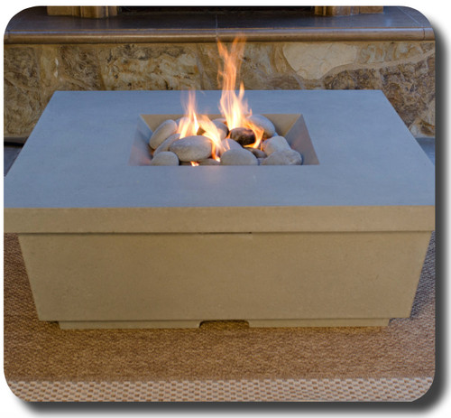 American Fyre Designs - Contempo Square Fire table