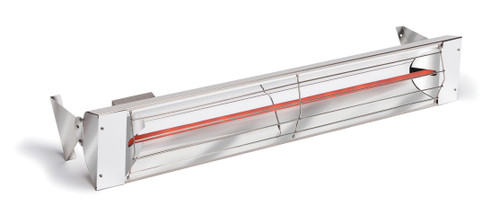 "33"" 1500 WATT 240 VOLT 6.3 AMPS Heater in Stainless Steel"