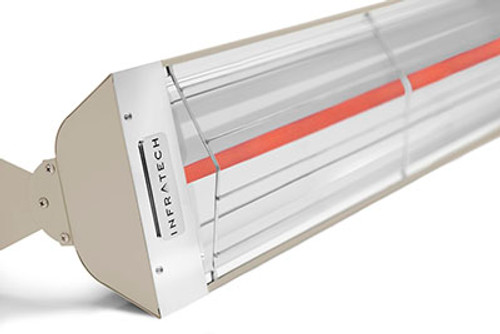 """61 1/4"""" 3000 WATT 240 VOLT 12.5 AMPS Heater in Beige"""