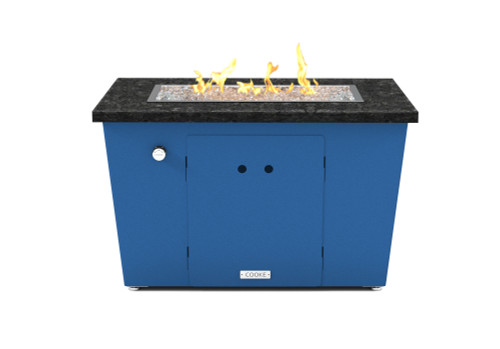 "COOKE Miami Rectangle Fire Pit Table - 26"" x 36"""