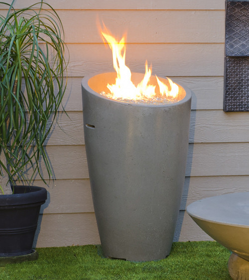 American Fyre Designs - Eclipse Urn without Removable Door