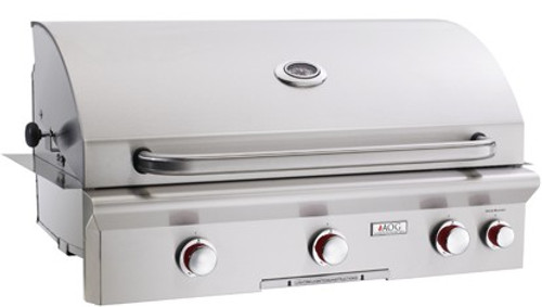 """AOG - 36"""" Built-In Gas Grill (Optional Rotisserie System)"""