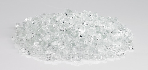 """American Fire Glass - 1/4"""" Classic Fire Glass - Multiple Color Options - 10 lbs"""
