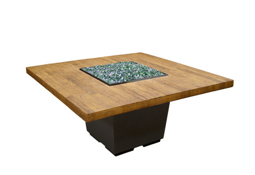 Cosmopolitan Square Firetable - Dining Height