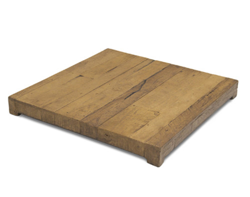OPTIONAL GFRC French Barrel Oak Protective Burner Cover