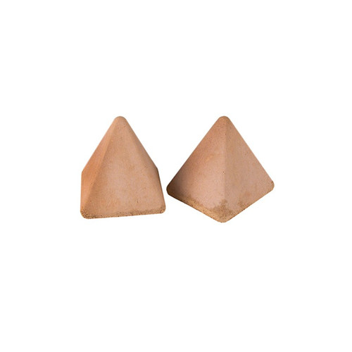 Real Fyre - Pyramids (4 Sided) Geometric Stones