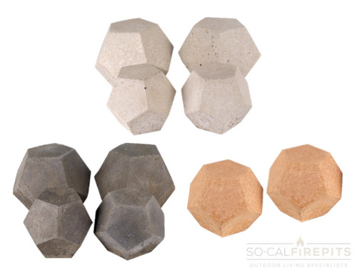 Real Fyre - Domes Geometric Stones