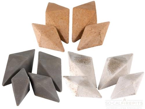 Real Fyre - Diamonds Geometric Stones