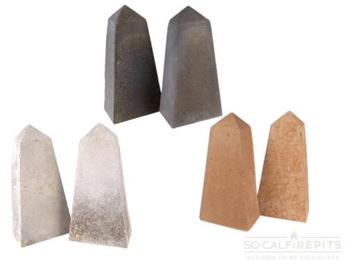 Real Fyre - Obelisks Geometric Stones