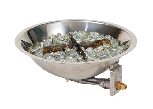 "OGR 12"" Crystal Fire Burner with Fire Gems"
