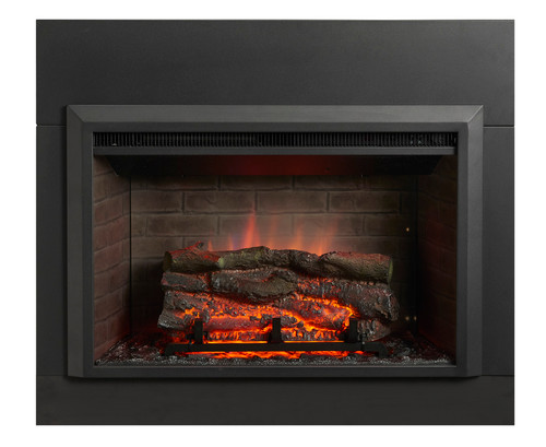 """OGR Gallery Zero-Clearance Electric Fireplace Insert in 36"""" or 42"""""""