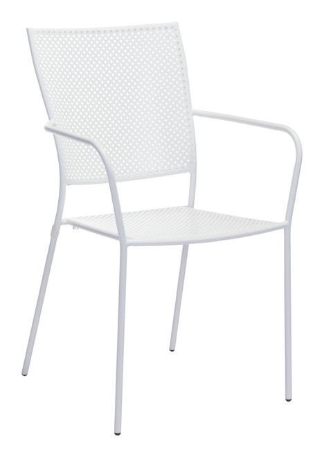 Pom Dining Chair White