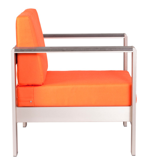Cosmopolitan Arm Chair Cushion Orange