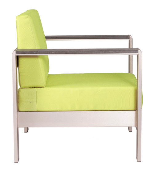 Cosmopolitan Arm Chair Cushion Green