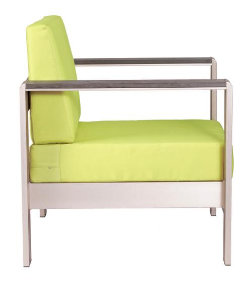 Cosmopolitan Arm Chair Cushion Green