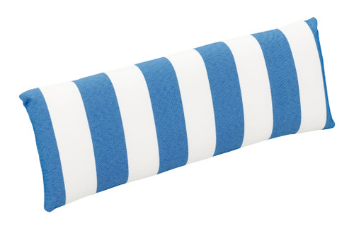 Nautical Chair Back Cushion Blue & White