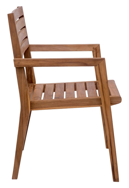 Nautical Dining Arm Chair Natural