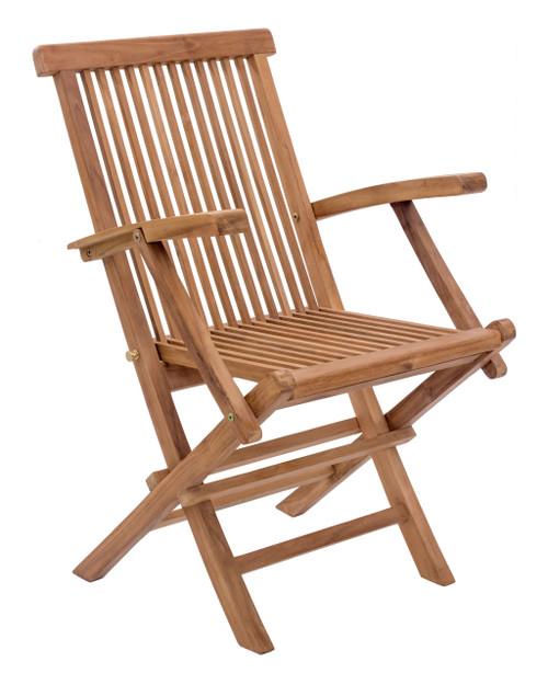 Regatta Folding Arm Chair Natural